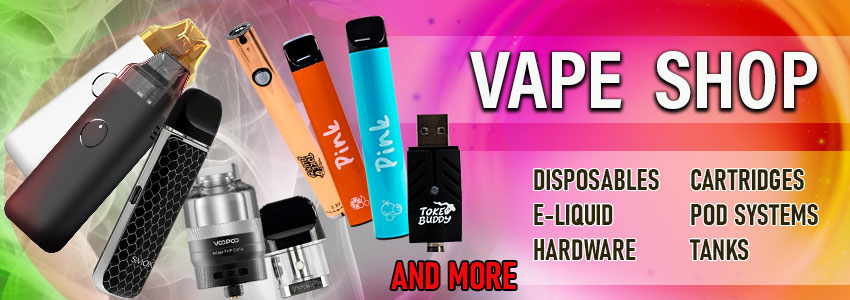 Vape Shop Wholesale Online Fast Shipping Disposables Pods Mods Kits