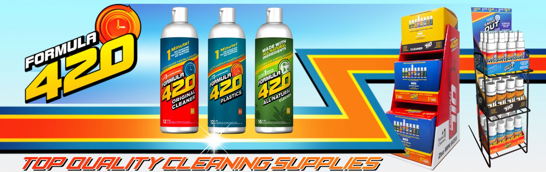 Formula 420 Cleaning Products
