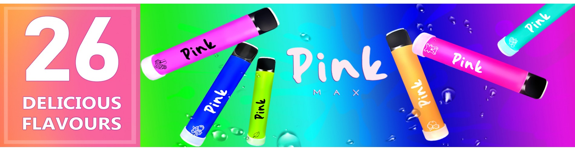 Pink Max - Disposables Manny Great Flavours