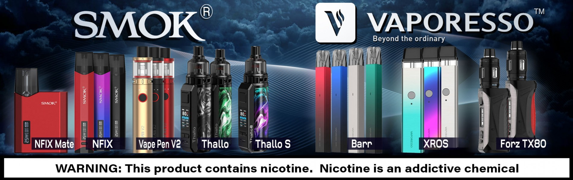 New Pod Kits and Hardware from Smok and Vaporesso