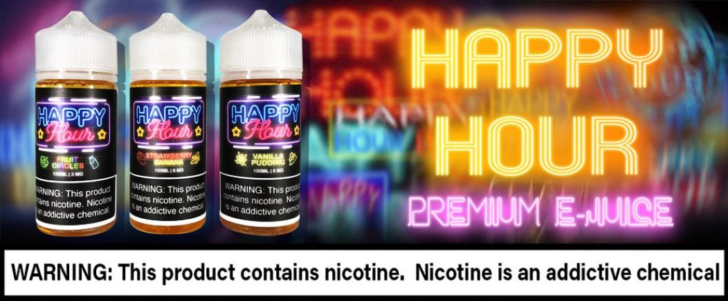 Happy Hour Premium E-Juice