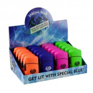 Special Blue - Classic Rubber Lighters - 20PC Display