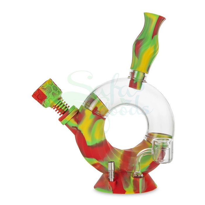 Ooze Ozone Silicone Water Pipe/Nectar Collector