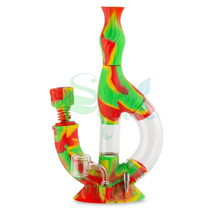Ooze Echo Silicone Water Pipe/Nectar Collector