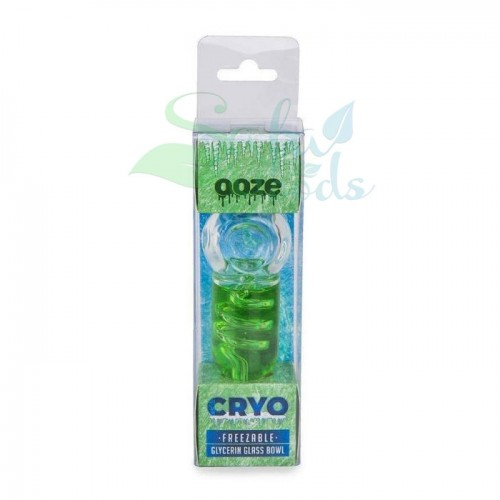 Ooze Cryo Glycerin Glass Hand Pipe