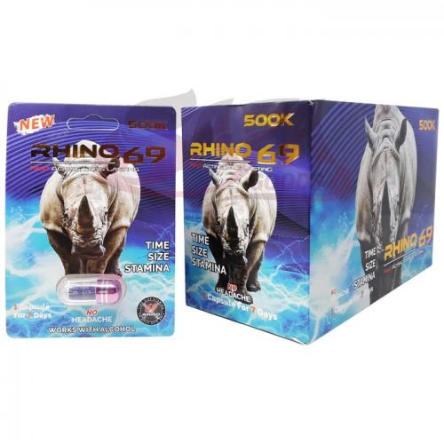 Rhino 69 - Male Enhancement Pills - 24CT
