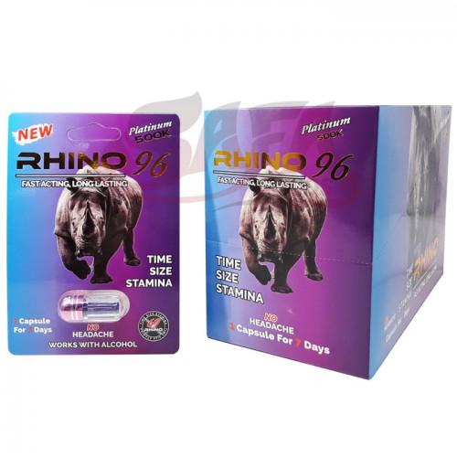 Rhino 96 - Male Enhancement Pills - 24CT