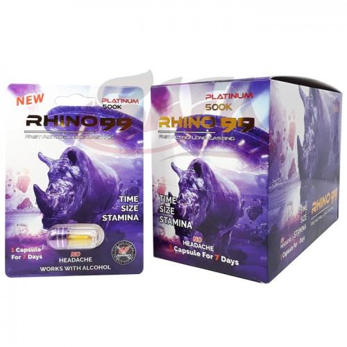 Rhino 99 - Male Enhancement Pills - 24CT