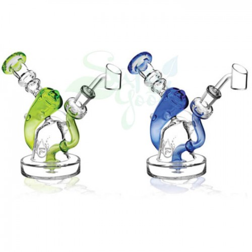 6.5 Inch Pulsar Mini Vortex Recycler Rig Water Pipe
