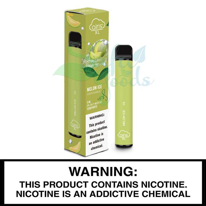 Airis XL Disposables - 10pc 5% Salt-Nic (1200 Puffs)