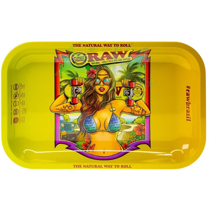 Raw Metal Rolling Tray | Brazil