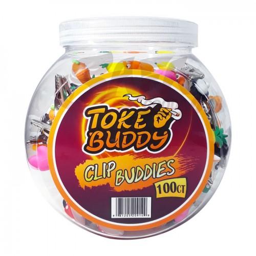 Toke Buddy Clip Buddies 100ct