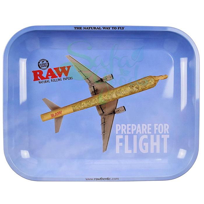 Raw Metal Rolling Tray | Flying