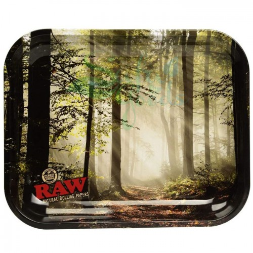 Raw Metal Rolling Tray | Forrest