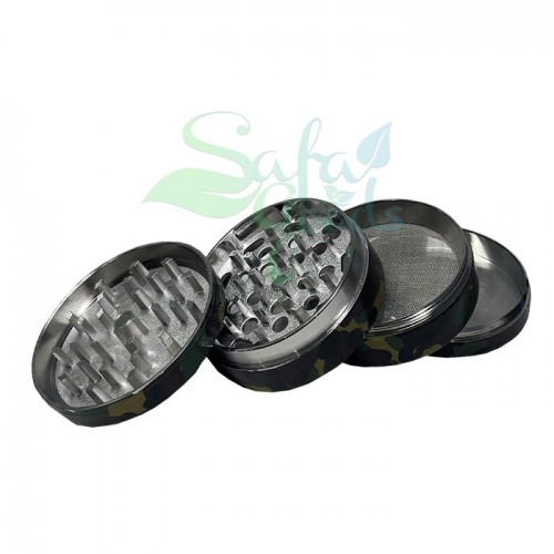 63mm Camo Grinders 4 Stage 6pc