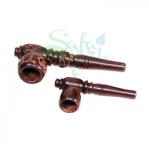 4 Inch Wood Hand Pipes