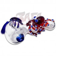 4 Inch Glass Hand Pipes - Creature