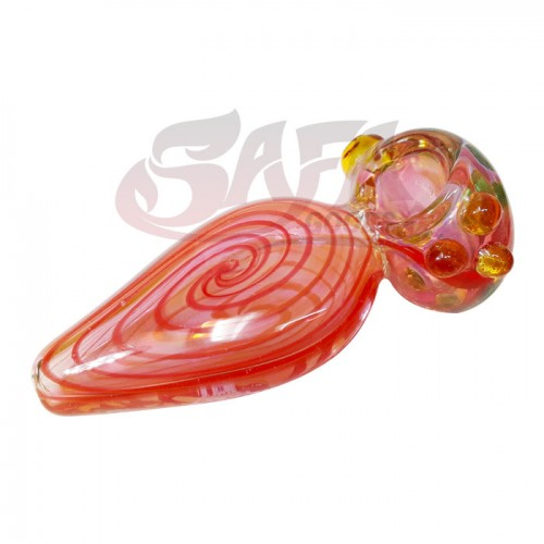 5 Inch Glass Hand Pipes - Fume and Spiral
