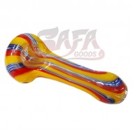 3 Inch Glass Hand Pipes - Fume Cane