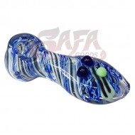 4 Inch Glass Hand Pipes - Linework