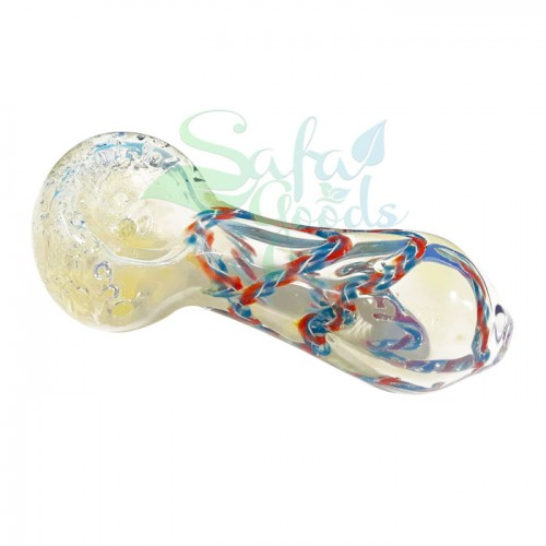 3 Inch Fumed w/ Cane Handpipe