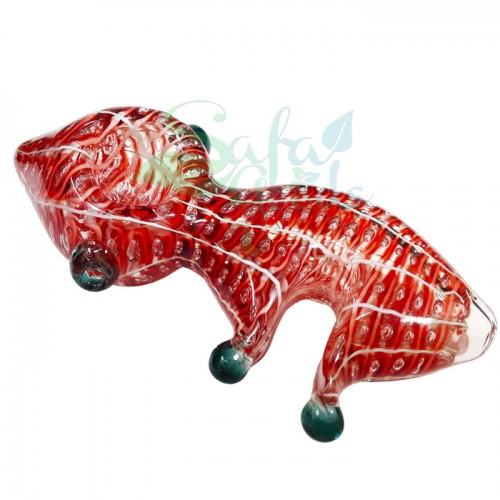 5.5 Inch Alien Shape Glass Hand Pipes