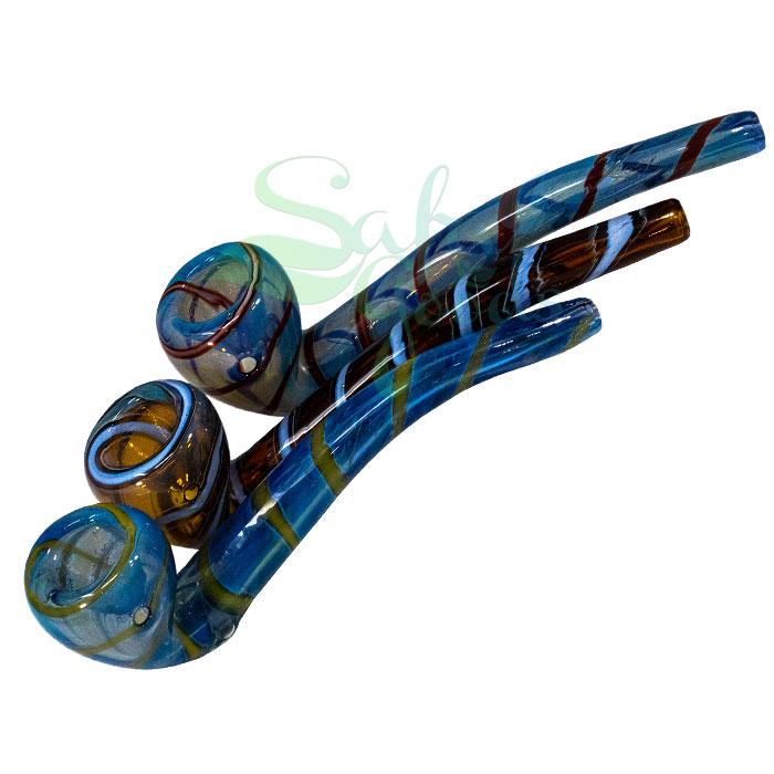 7 Inch Sherlock Fume Swirl Handpipe