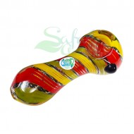 4 Inch OATH Clear w/ Cane Handpipe