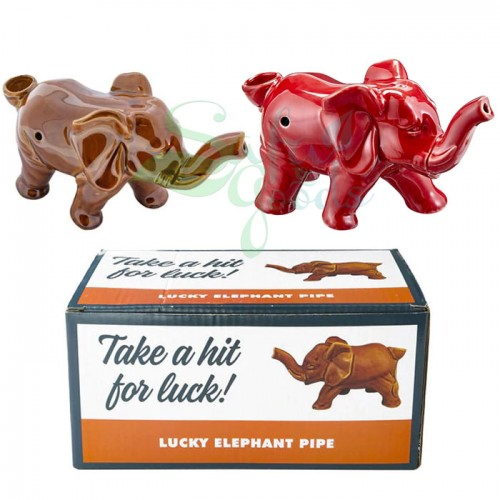 Lucky Elephant Pipe