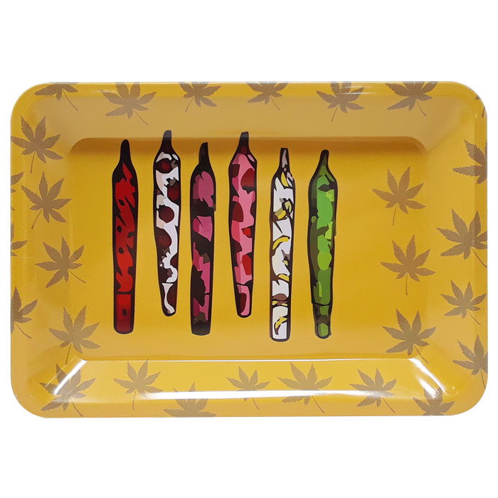 Small Metal Rolling Tray | Pre-Rolls