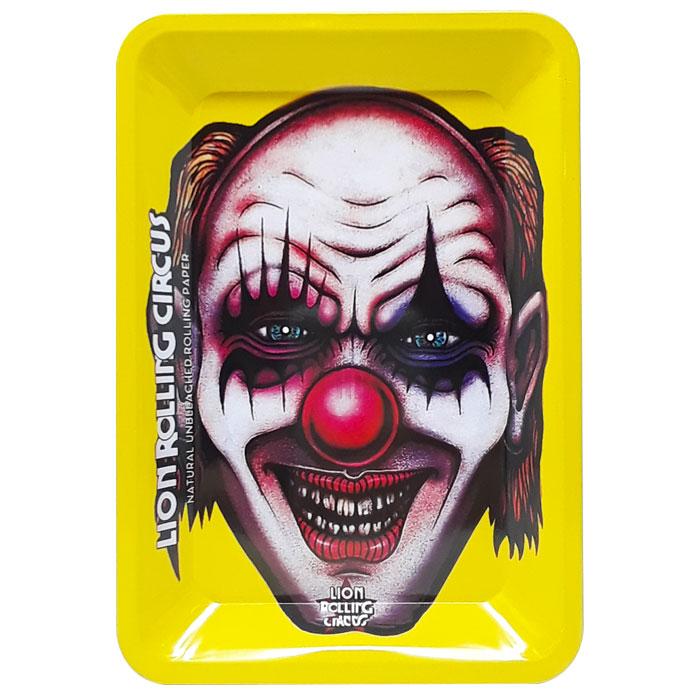 Small Metal Rolling Tray | Creepy Clown