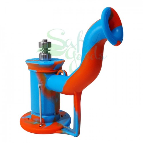 6 Inch Silicone Oil Can Water Pipe