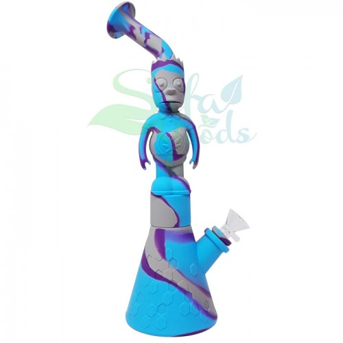 """Silicone Character """"X"""" Water Pipes"""
