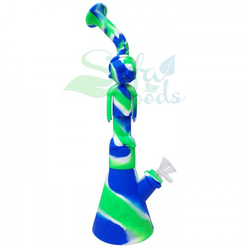 """Silicone Character """"M"""" Water Pipes"""