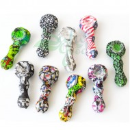 4 Inch Silicone Spoon Hand Pipe