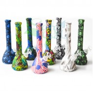 8 Inch Silicone Beaker Water Pipe