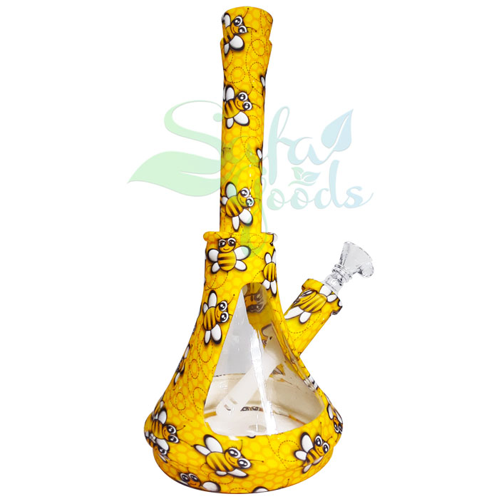 10 Inch Silicone Beaker Water Pipe