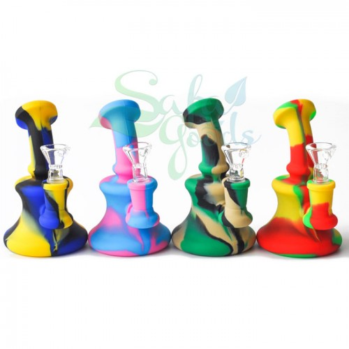 5 Inch Silicone Banger Hanger Water Pipe