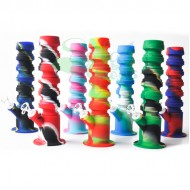11.5 Inch Flexible Tube Silicone Water Pipe