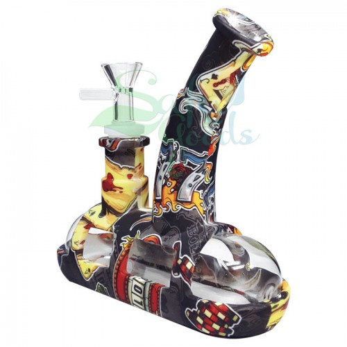 Silicone Tugboat Water Pipe - Graphics
