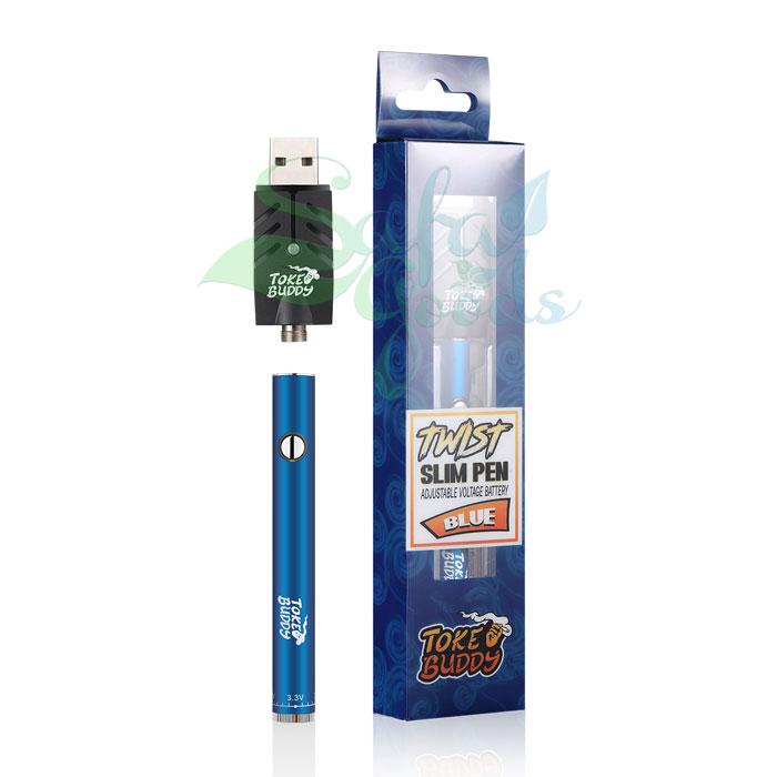 Toke Buddy Slim Twist Battery - Single Unit