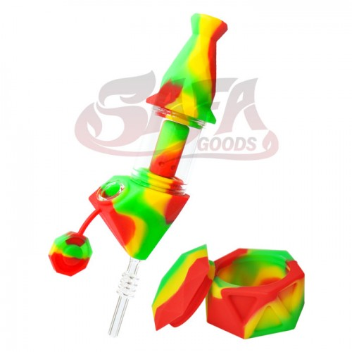 Toke Buddy Silicone Water Pipe/Nectar Collector