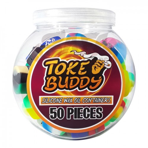 Toke Buddy Silicone Jar Containers