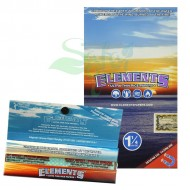 Elements - Ultra Thin Rice Rolling Papers - 1-1/4 inch 25ct
