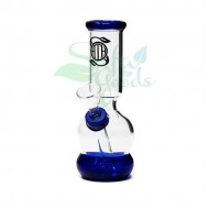 5 Inch OATH Rubber on Glass Water Pipe