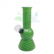 5 Inch Rubber on Glass Water Pipes