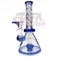 8 Inch Beaker Water Pipes - Showerhead Perc