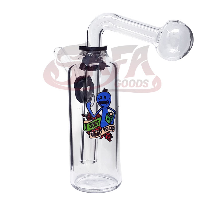 5 Inch Oil Burner Water Pipes - Graphics