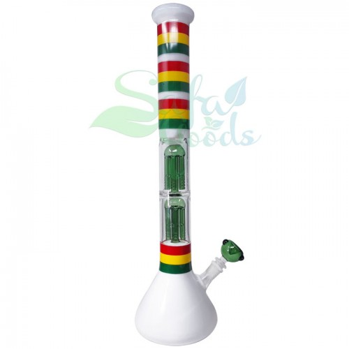 20 Inch Double Tree Beaker Water Pipe