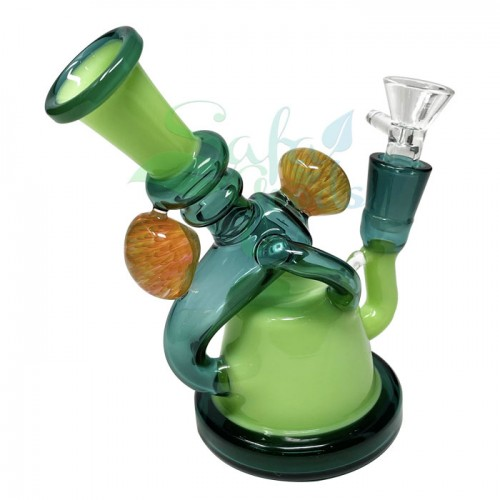 6 Inch Heady Recycler Water Pipe
